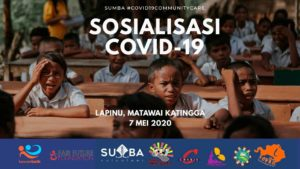 Covid-19 Outbreak | We act in Sumba with Kawan Baik Indonesia!