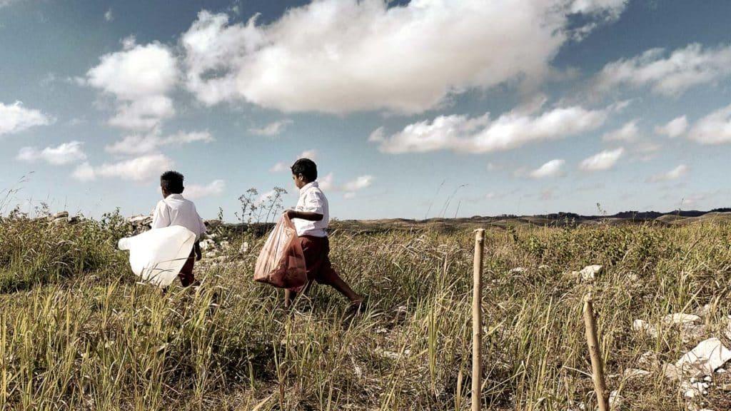 Événement de préparation de cérémonie de l'école Mbinudita