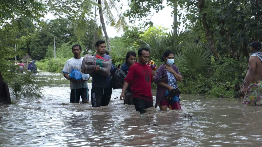 Natural disaster in Sumba and eastern Indonesia