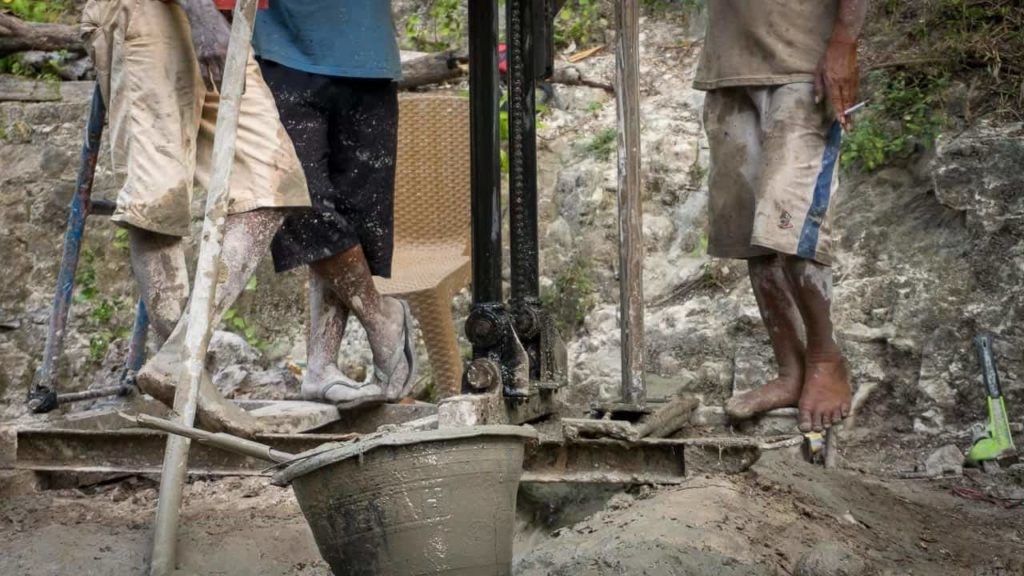 """A """"central water point"""" for 250 people, 39 families from East Sumba"""
