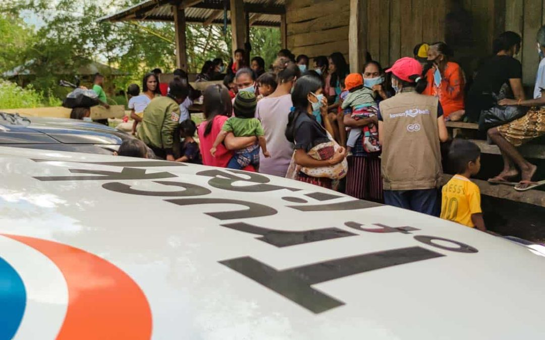Truck of Life, Truck of Health Medical Care in Kangeli, East-Sumba