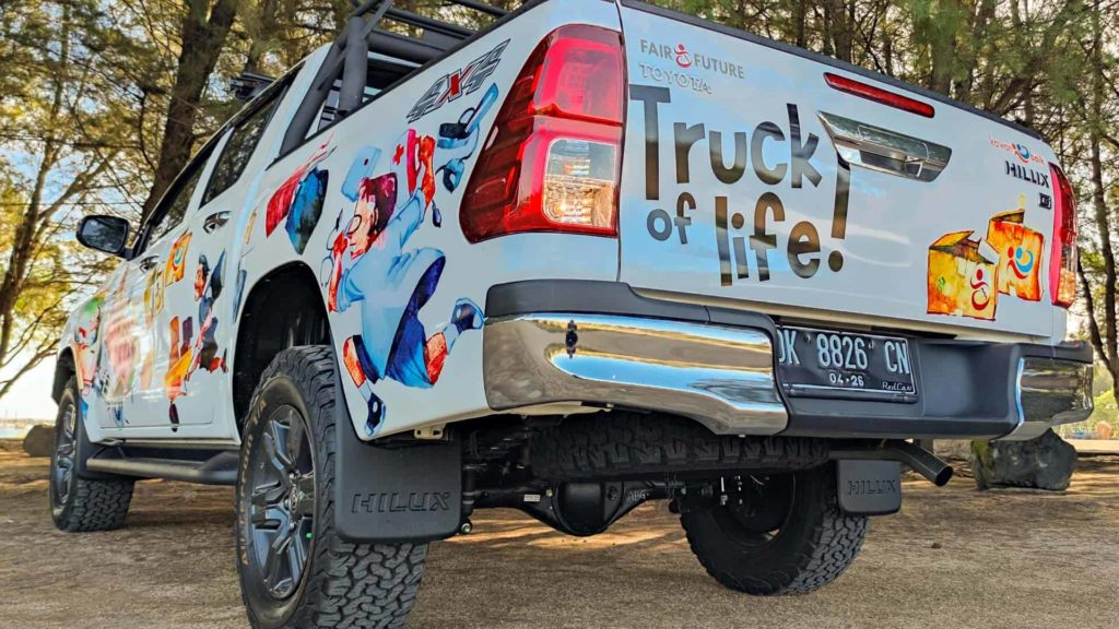 """We activate the """"Truck of Life"""" program by FFF and KBI"""